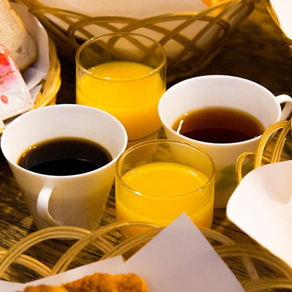 紅茶とソフトドリンク
